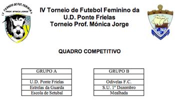 Torneio cuja organização está a cargo da U.D. Ponte de Frielas