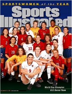 CAMPEÃS: Capa da Sports Illustrated com a Seleção campeã mundial em 99